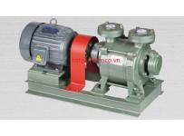 Máy bơm hút chân không vòng nước rời trục 1 cấp hiệu HANCHANG Model: HWVP-1-100/170